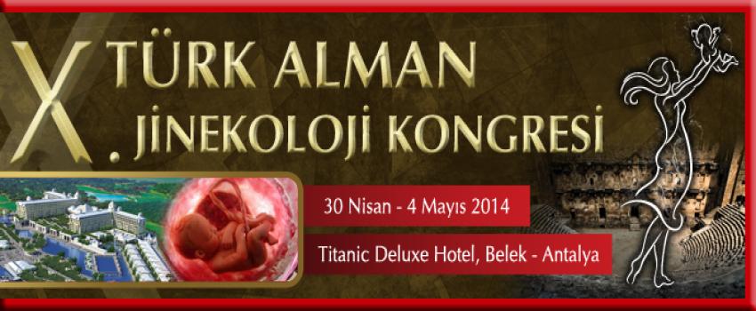TAJEV (Türk-Alman Kadın Doğum Kongresi) 2014